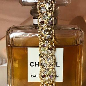 Jewelry - NWT 18k over Sterling Silver Gemstone Bracelet